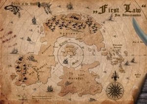 the first law world map