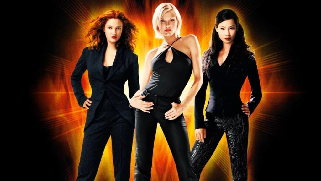 Charlie's Angels promotional movie poster