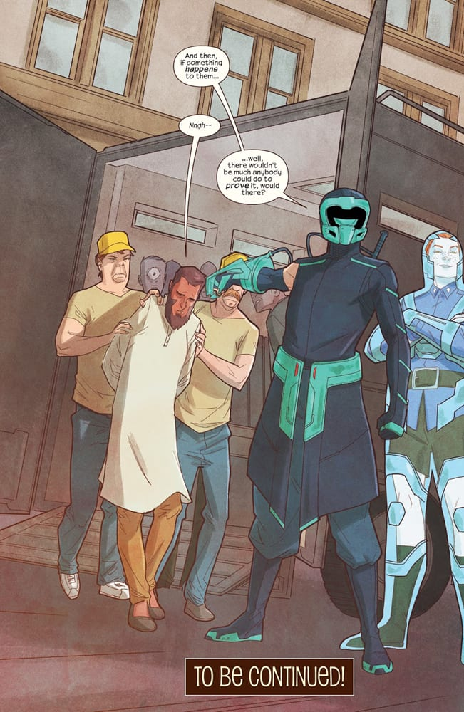 Discord holding Aamir captive in Ms. Marvel #20