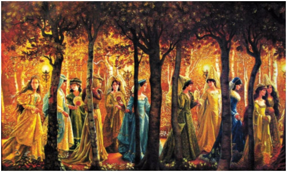 12 princesses in a forest