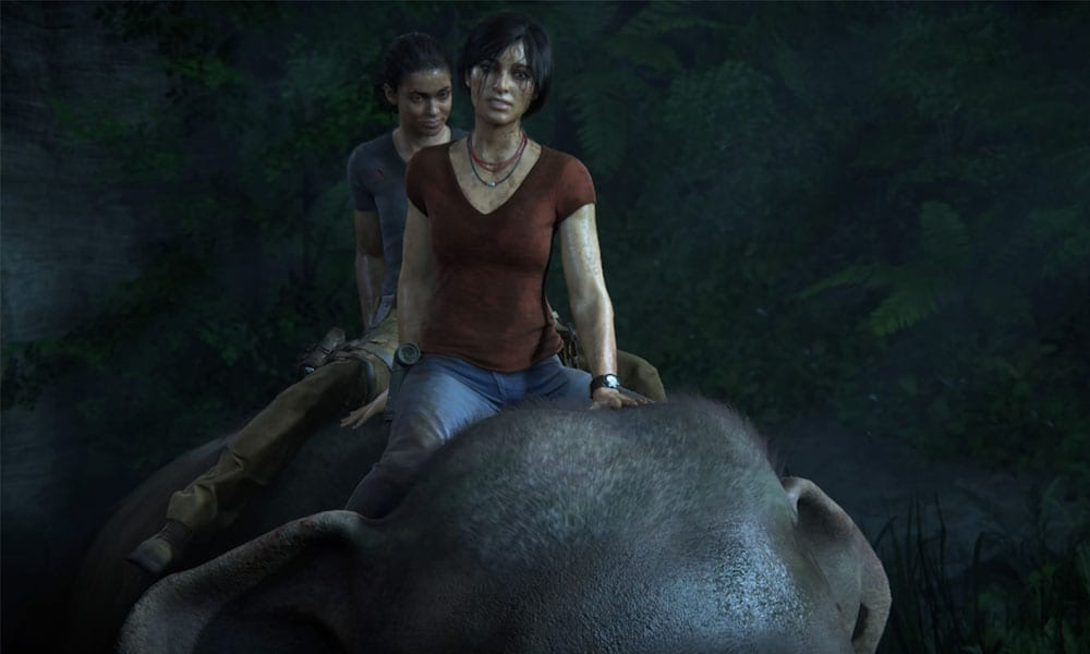 Uncharted Lost Legacy Is Fun And Probably Queer The Fandomentals