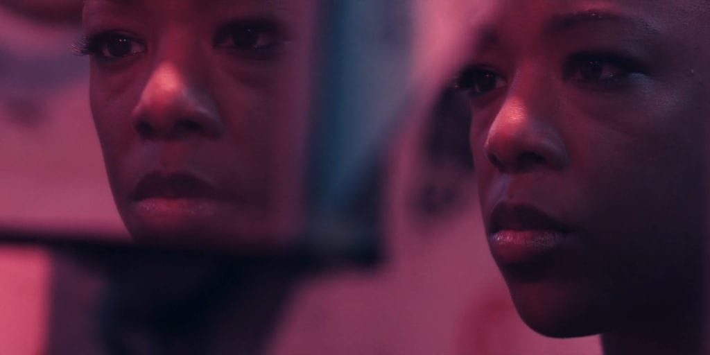 """Samira Wiley as Moira in The Handmaid's Tale 2x03 """"Baggage"""""""