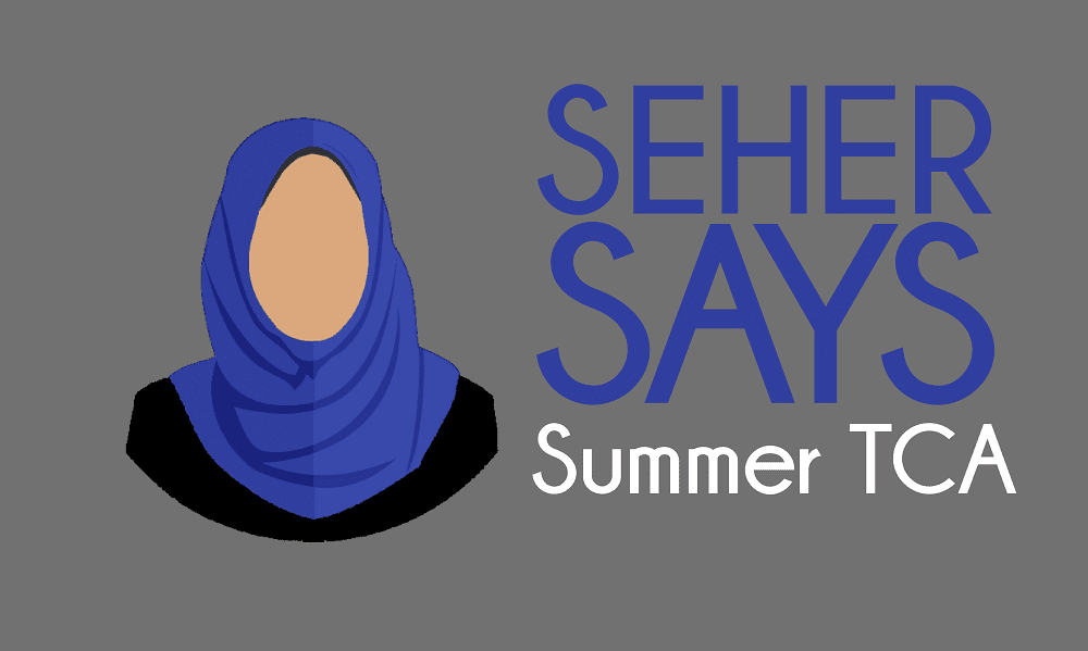Seher Says Logo Summer TCA