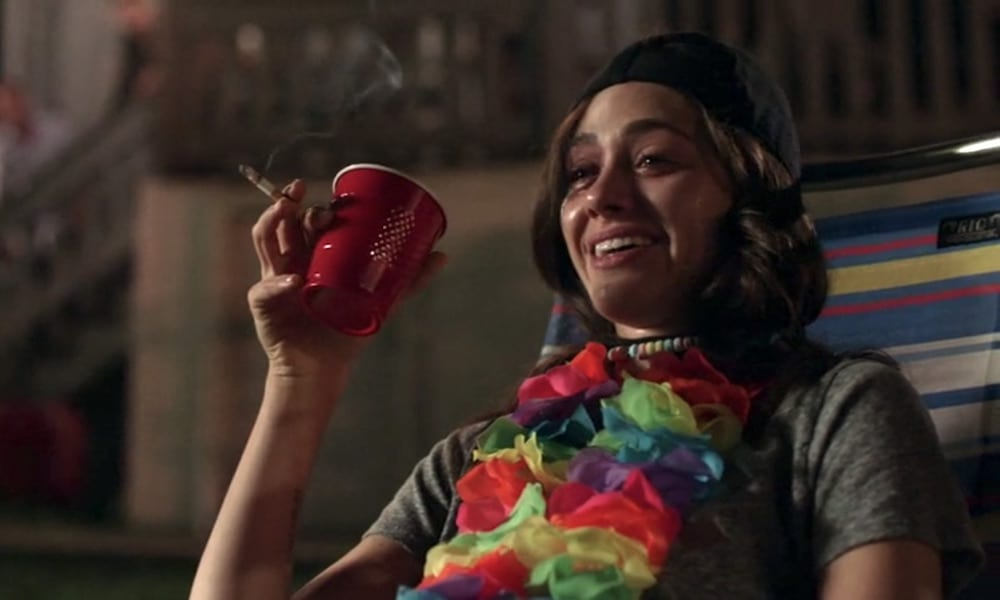 """Emmy Rossum as Fiona Gallagher in Shameless 9x07 """"Down Like the Titanic"""""""