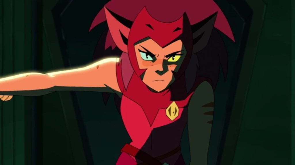 """Catra in She-Ra and the Princesses of Power 1x09 """"No Princess Left Behind"""""""