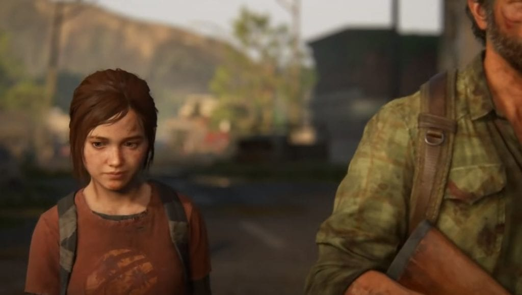 last of us young ellie and joel