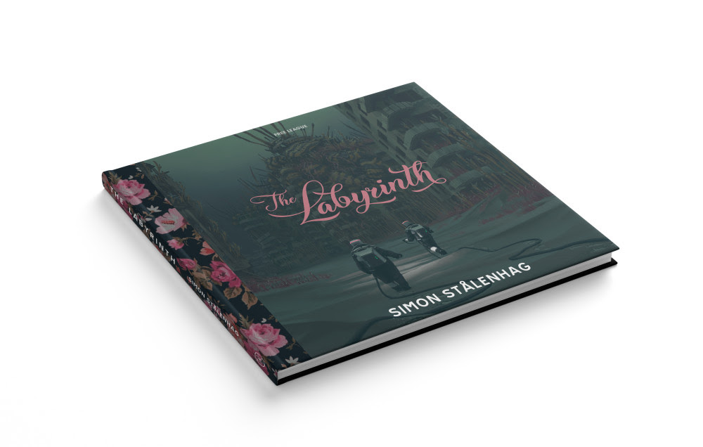 The Labyrinth book render