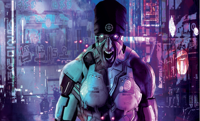 Cyberpunk revels in the aesthetics of the genre without being too silly