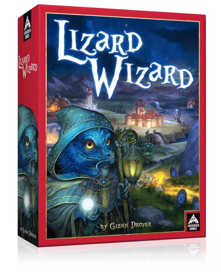 Lizard Wizard board game