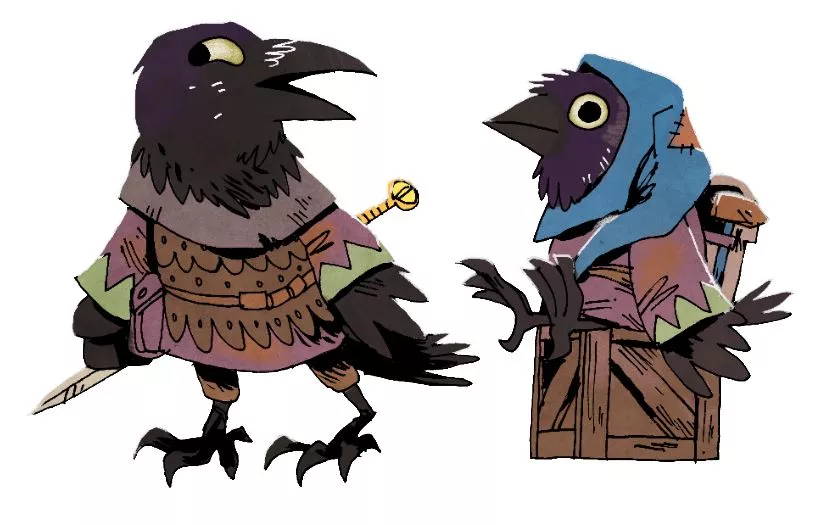 Corvid Conspiracy members from Root Underworld