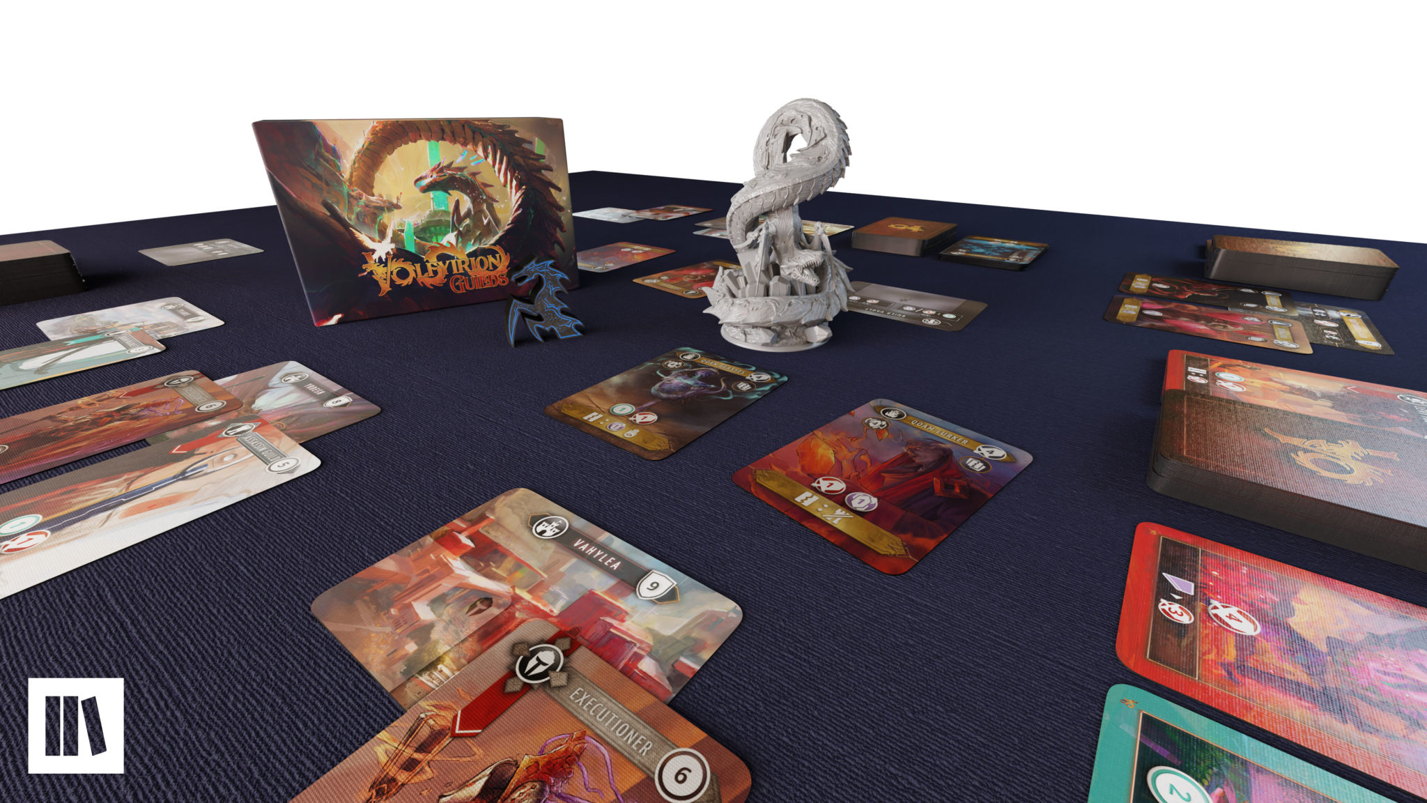 Volfyirion Guilds on  the table