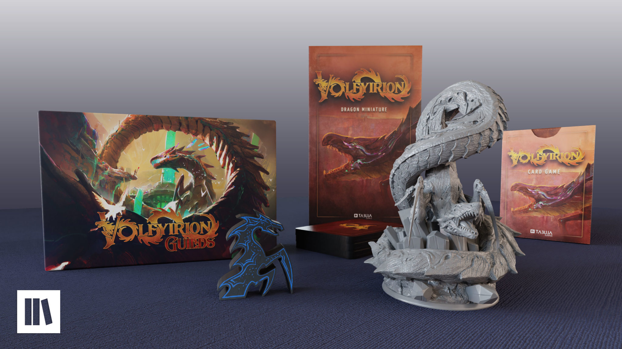 Volfyirion Guilds board game by Tabula Games