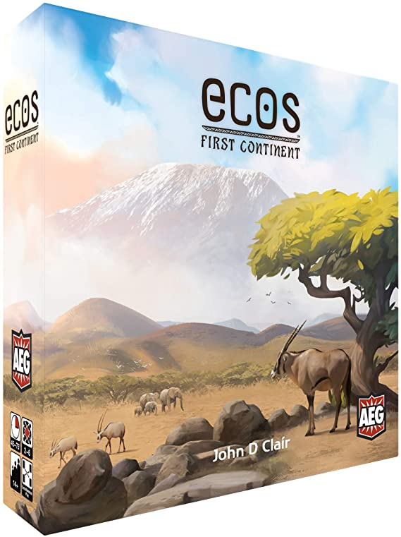 Ecos: First Continent box