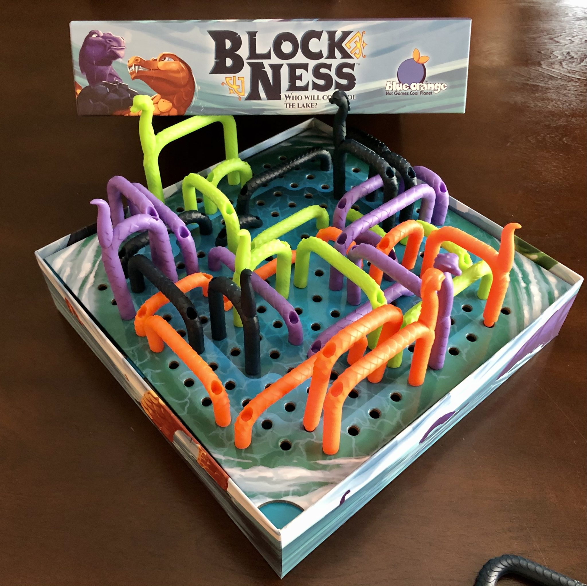 Block Ness end game