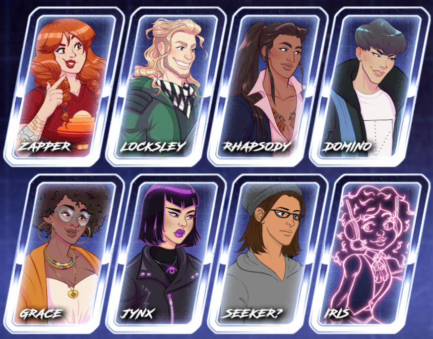 characters in Arcade Spirits