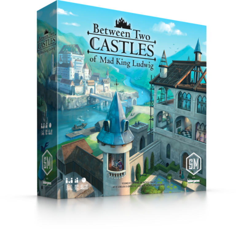 Between Two Castles of Mad King Ludwig box art