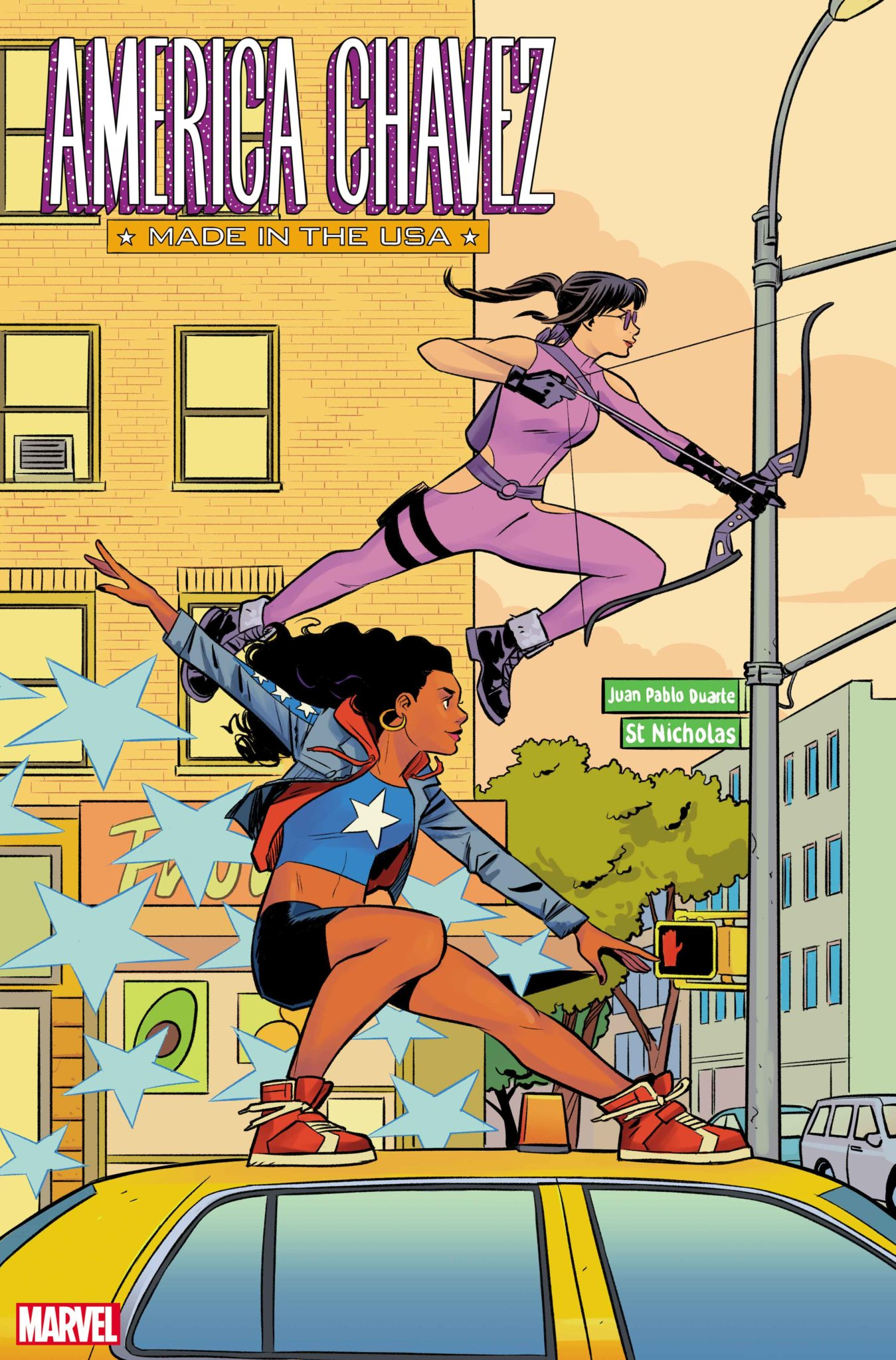 America Chavez: Made In The USA Cover