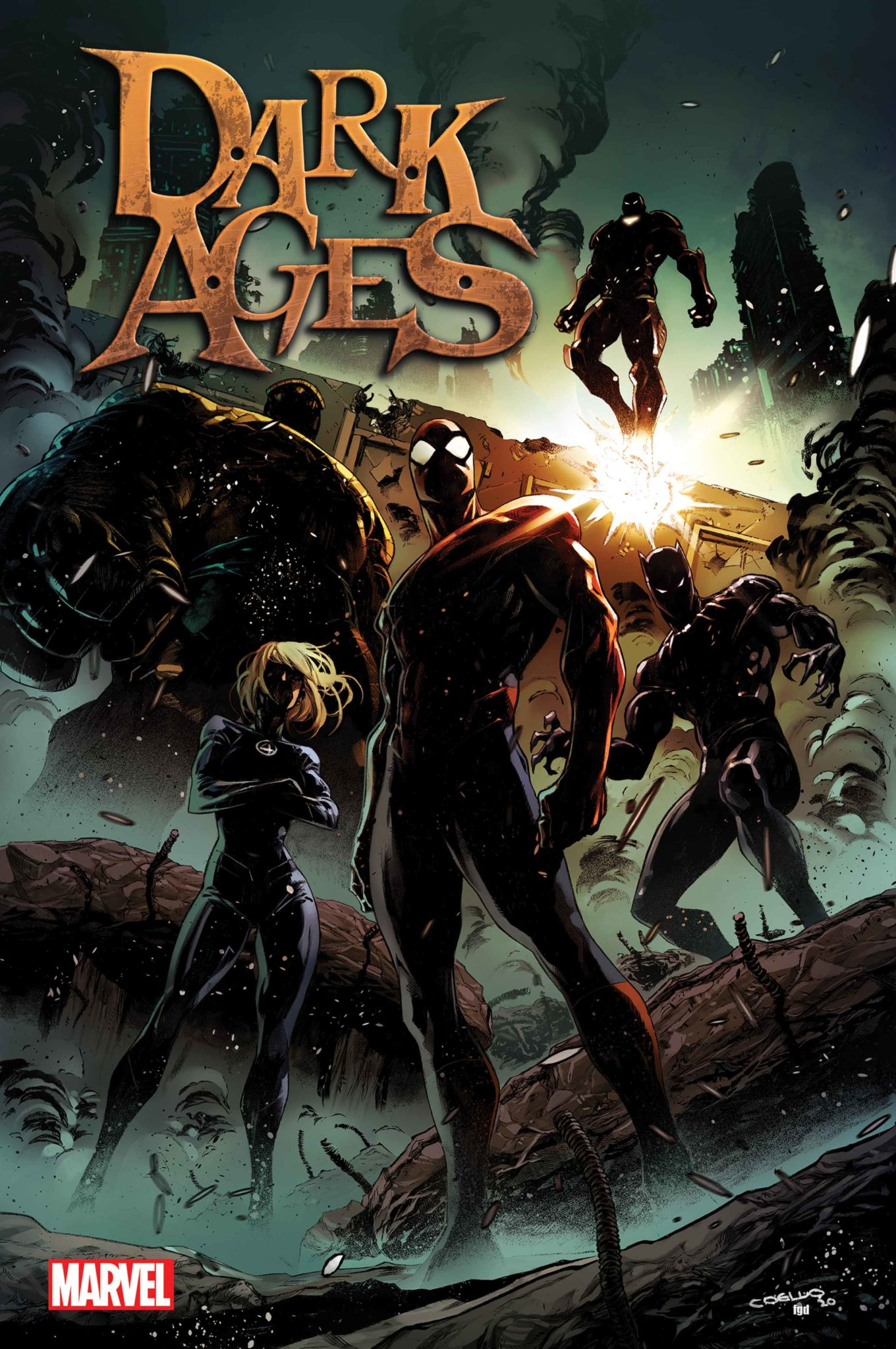 Marvel's Dark Ages cover