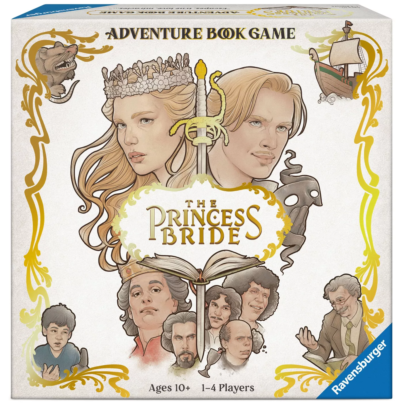 The Princess Bride Adventure Book Game box showing cover art