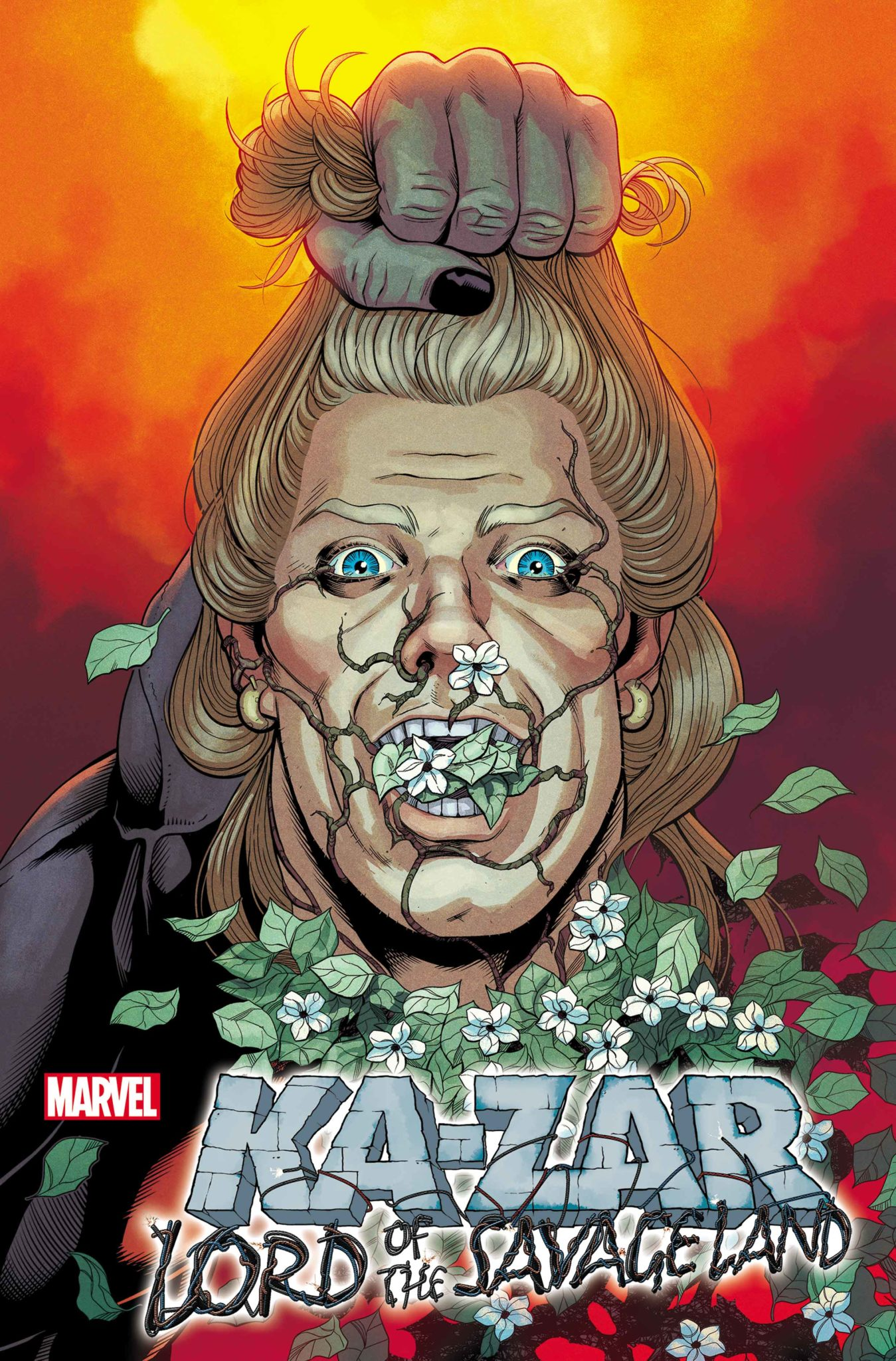 Ka-Zar Lord of the Savage Land variant cover